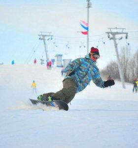 Беспощадный инструктор по сноуборду