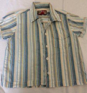 Рубашка на 104-110