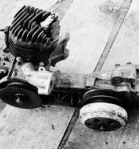 Двигатель honda dio 27 по запчастям