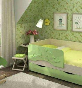 Детская кровать Дельфин-2 1.6 м