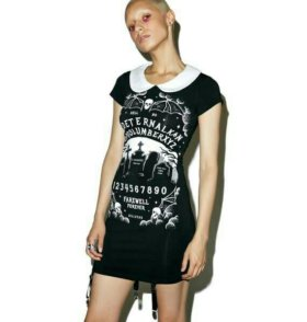 Платье глэм-рок