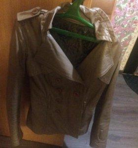 Продам коженную куртку