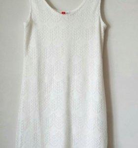Кружевное платье-мини O'STIN