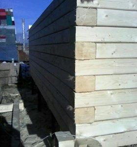 Строим дома из бруса, бревна, каркасные
