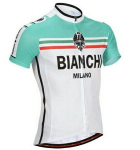 Вело джерси Bianchi (велосипедная футболка)