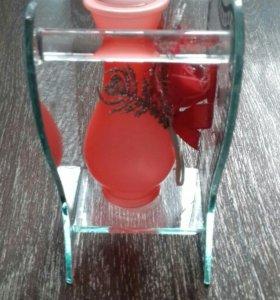 Декоративная ваза для цветов например под ландыши