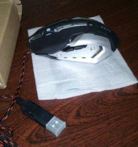 Проводная, оптическая игровая мышь