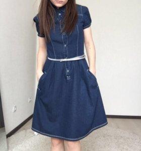 Джинсовое платье Savage