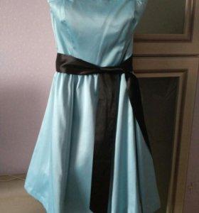 Новое платье с пышной юбкой