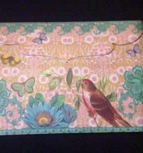 Красивые стикеры в конверте разных видов