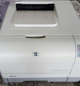 Лазерный цветной принтер HP