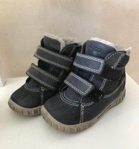 Ecco ботинки демисезонные 21р