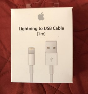 Оригинал lightning to USB cable 1m