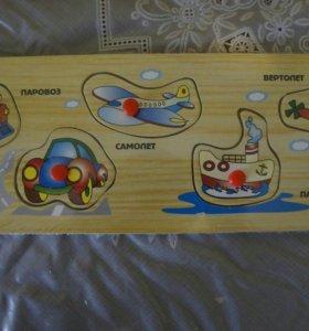 Новые деревянные игрушки!