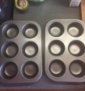 Тефлоновые формы для кексов
