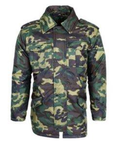 Зимняя куртка и комбинезон защитного цвета 42 р