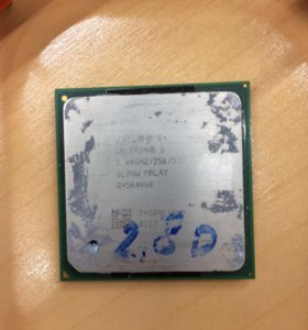 Процессор intel Celeron 2,8 ghz