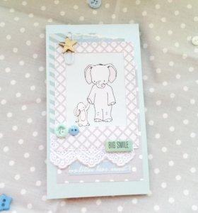 Открытка для малыша