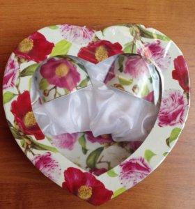 Набор столовая посуда из фарфора
