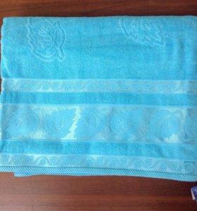 Легкое махровое одеяло- покрывало mrash tekstil
