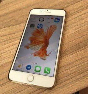 Айфон 7+ почти новый белый