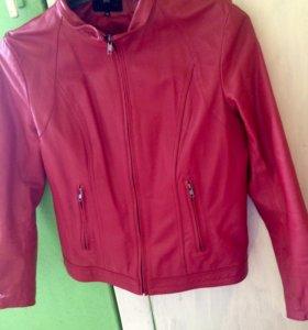 Натуральная кожаная куртка 48р