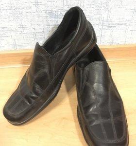 Мужские туфли (кожаные) 40 размер