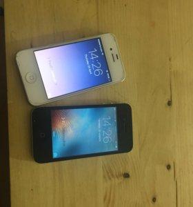 iPhone 4s белый