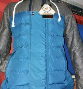 Куртка-парка мужская новая 46р