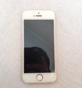 Срочно продам iPhone 5s 16gb gold