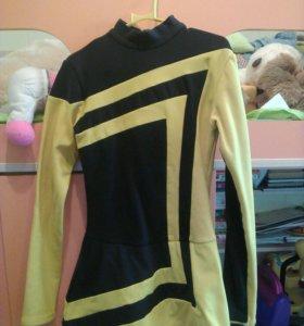 Платье тренеровочное по фигурному катанию