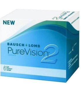 Контактные линзы PureVision+4,25