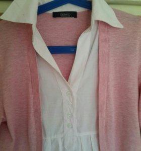 кофточка - рубашка для беременных