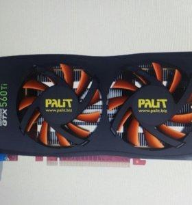 Видеокарта Palit GTX 560 Ti GDDDR5 256BIT 2Гб