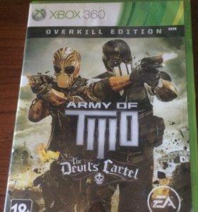 Игра на x-box 360 army of tiilo