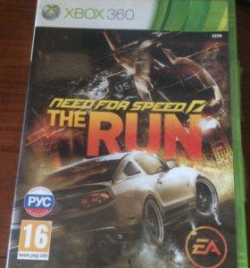 Игра на x-box 360 nfs the run