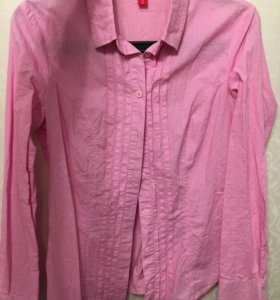 Рубашка 👚 розовая