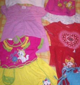 Платья футболки сарафаны