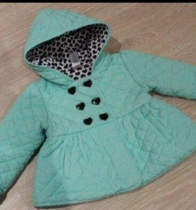 Куртка на девочку 1,6-2 года