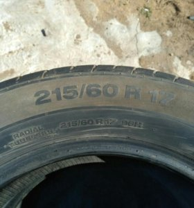 215/60 R17 Continental