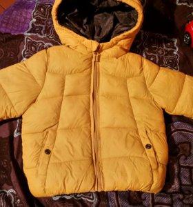 Детская куртка фирмы ЗАРА
