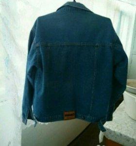 Куртка джинсовая унисекс