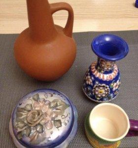 Чашки вазочки