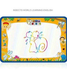 Акваковрик рисование для малышей