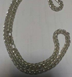 Цепочка серебро
