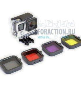 Набор фильтров для GoPro HERO 3+, 4