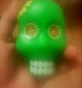 Свечка череп