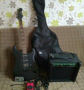 Продам гитару. С торгом.