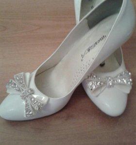 Туфли свадебные 37раз