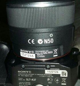 Цифровой фотоаппарат Sony Альфа37